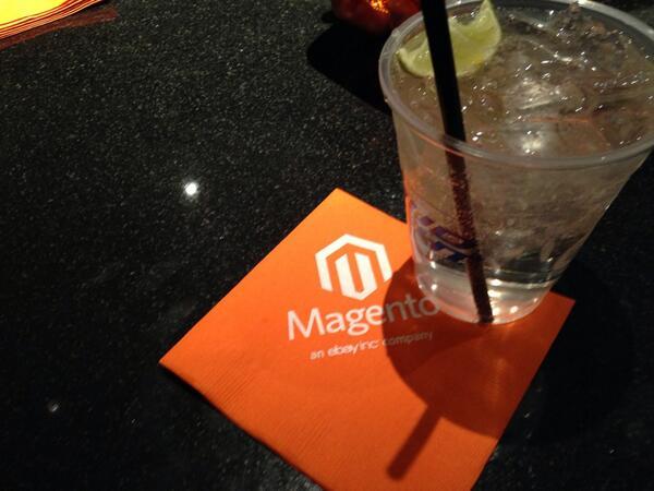 TshapeScott: Looking forward to tonight's festivities Magento style. #MagentoImagine @HardRockHotelLV http://t.co/nUuuMbAKCL