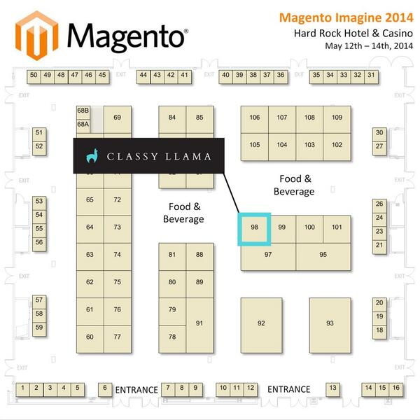 classyllama: We have one more trick up our sleeve for #magentoimagine. Come to our booth right after the keynote! http://t.co/JdfujhWM1y