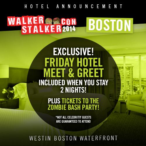 Walker stalker con on twitter free celebrity meet greet zombie walker stalker con on twitter free celebrity meet greet zombie bash tickets when you book 2 nights at the westin httptmkcx502qug m4hsunfo