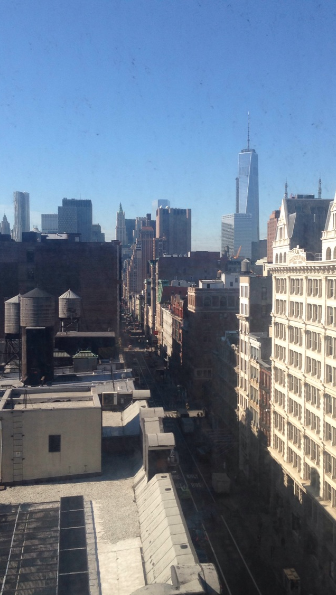 Check that view. Springtime in Soho! #dayinthelife @ZocDoc http://t.co/qDXNNCf8TT