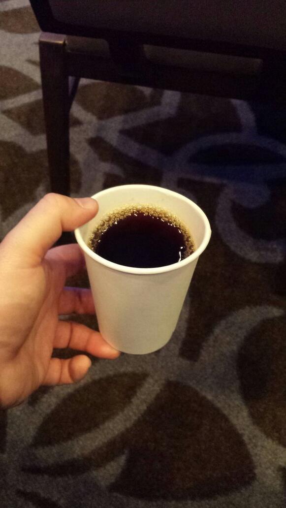 Benleah: #MagentoImagine -- coffee lovers need not apply. http://t.co/WRjZxcw1Yc