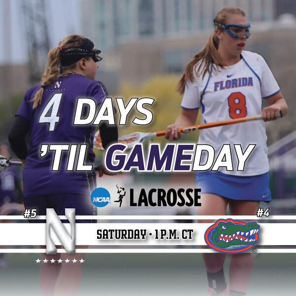 Retweet to show some love to the #B1GCats before their #NCAAWLAX visit to the Swamp. http://t.co/O1zQYfj3VZ