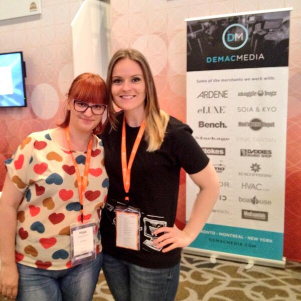 kt_hudson: Love hanging out with @Inchoo peeps! #MagentoImagine cc: @the_maja http://t.co/g6nQD5Oi65
