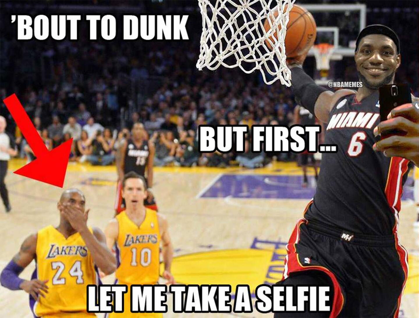 Dunking lebron of pictures james