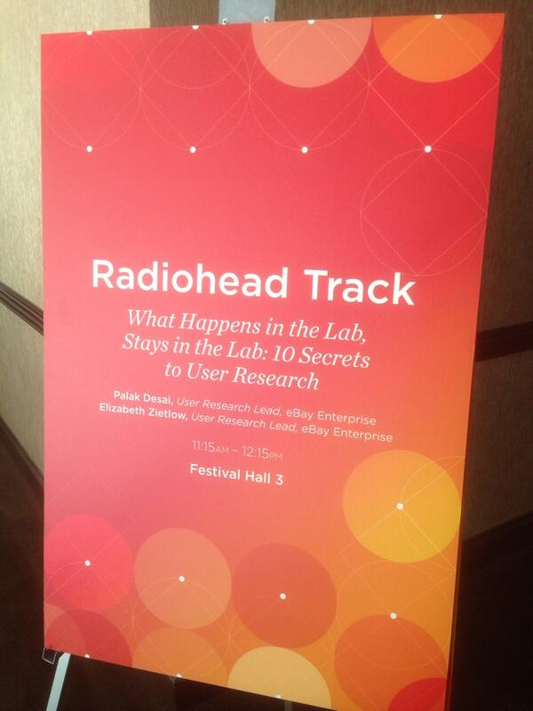 Schremkopf: File under 'Words I never expected to cross paths: Radiohead & Track' <huge Radiohead fan> #MagentoImagine http://t.co/rku2thET4L
