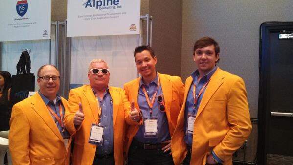 joesiok: The infamous #Magento gang from @AlpineCnsltg at the #MagentoImagine conference sporting some awesome jackets! http://t.co/OSuwrbjjF4