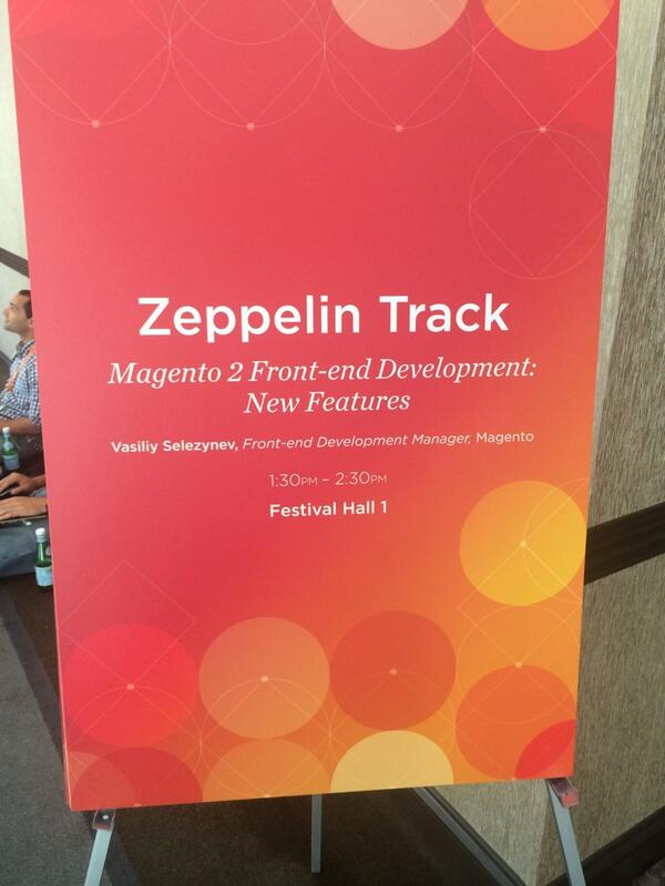 yairspitzer: #MagentoImagine I could spend the whole day in this track... Only at the Hard Rock hotel... http://t.co/GHAeYZJIOX