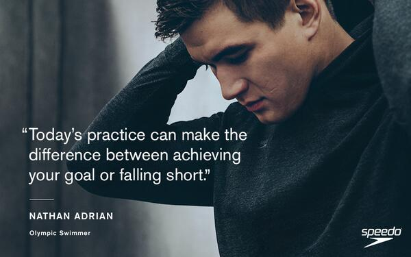 """Today's practice can make the difference between achieving your goal or falling short."" - @nathangadrian http://t.co/LCq1d2ToDN"