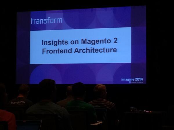 pinofilice: @MeetMagentoIT #MagentoImagine prossima track su Magento 2 http://t.co/iRIUf9ayMw