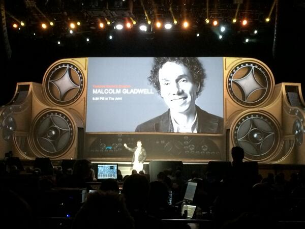 mmiller75: Sitting in The Joint @HardRockHotelLV waiting to hear Malcolm @Gladwell. #MagentoImagine http://t.co/rqrH53Ukme