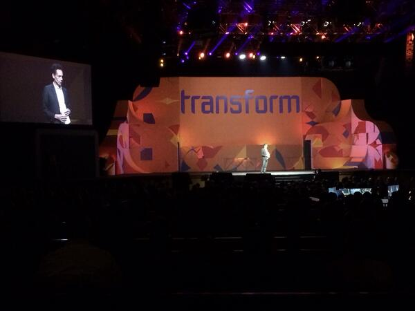 magento_rich: Transformation begins with disagreeables. #MagentoImagine http://t.co/VKwWWgLFlR