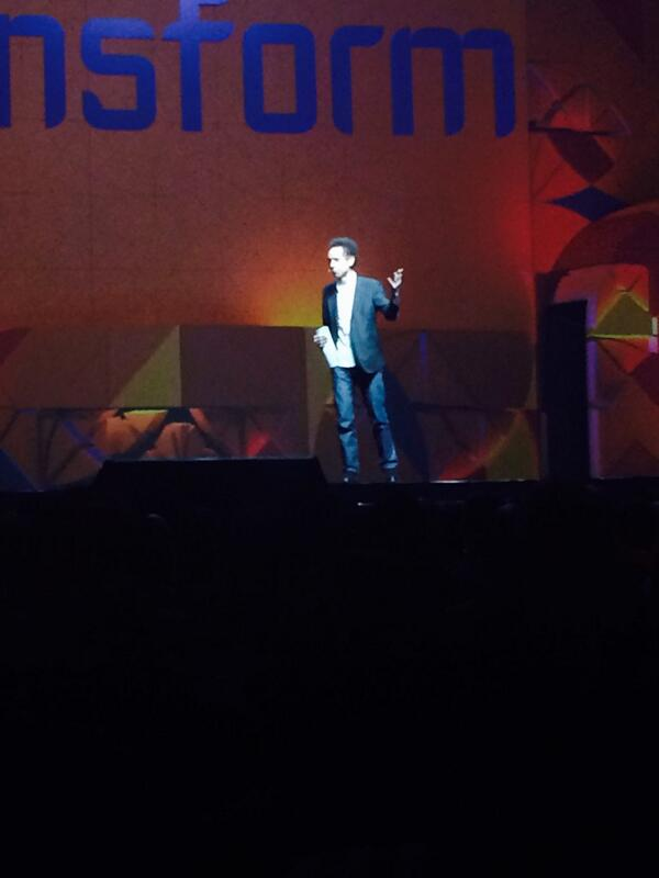 MagentoCarly: Transformation begins with disagreements - Malcolm Gladwell at #MagentoImagine http://t.co/VGUkR2MTWm