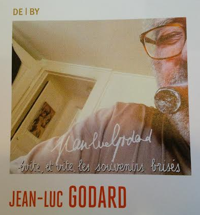 """ゴダールがカンヌのパンフ向けに撮ったらしい自分撮り写真。RT @peterhowellfilm: Godard does a selfie for his page in the Cannes program book. http://t.co/czaUnIDUUO"""""""