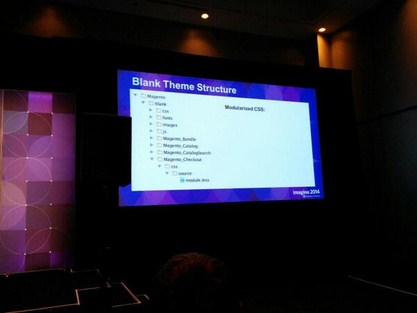 brentwpeterson: Magento 2 blank theme structure #MagentoImagine http://t.co/3mJtUpj3Ll