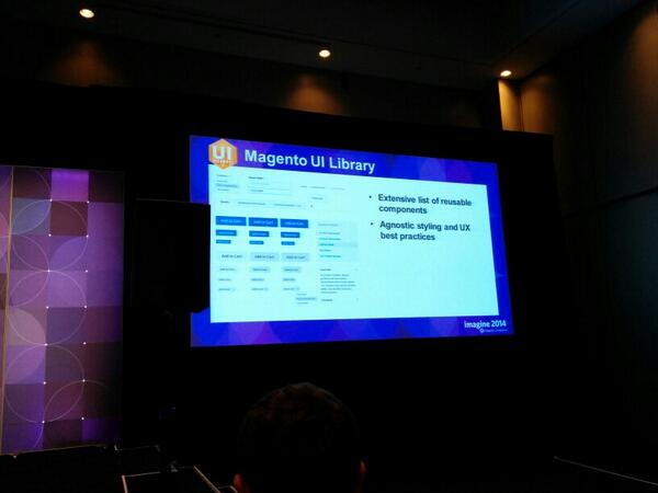 brentwpeterson: #MagentoImagine msgento2 ui library http://t.co/AXBtzC2uam