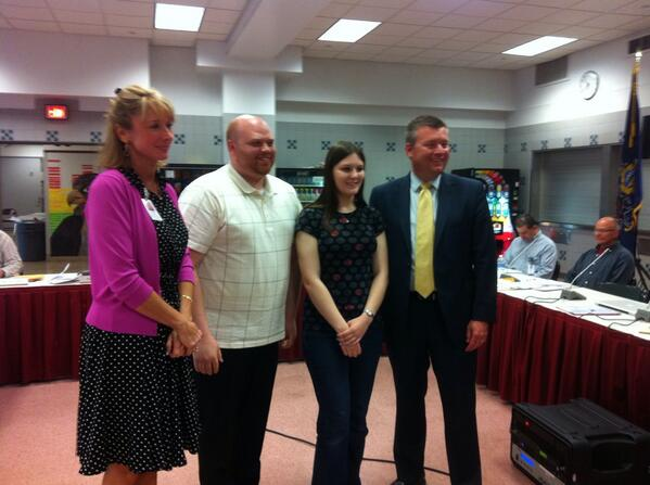 #Pottsgrove HS student Abby Hudock 1 of only 4 in the country to achieve a perfect score in WordWright Challenge. http://t.co/eFxmuibVmC