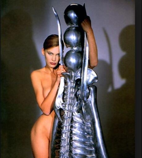 RIP H.R. Giger I'll always remember our time together fondly, laughing on the train through your house.. Thank you... http://t.co/UREJd1hLBN