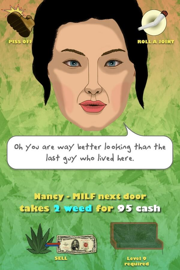 Weed with milf