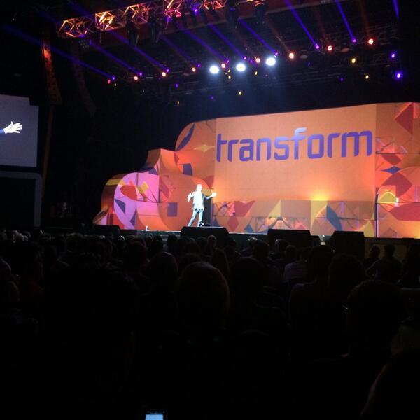 CareyLohrenz: .@Gladwell talking transformation @magento #MagentoImagine http://t.co/uIWDmGimwz