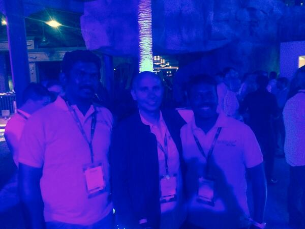 DCKAP: @royrubin05 @magento @kcdckap @GopalRamya123  #MagentoImagine Magento legendary evening. http://t.co/Wn7qlwzB2y