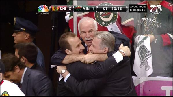 Breathe, #Blackhawks fans. You're moving on to the Western Conference Finals #HawksTalk http://t.co/FLX3qYEScM