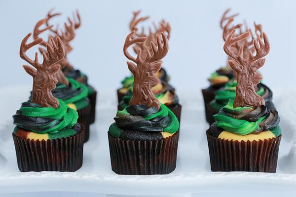 Rosanna Pansino On Twitter Quot Deer Hunter Cupcakes These
