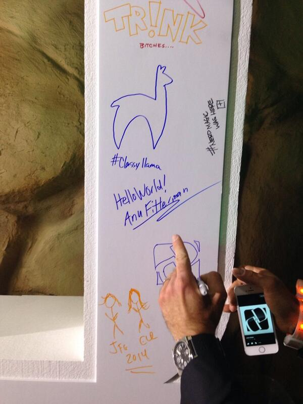 AnuFitterman: Leaving my mark at the #MagentoImagine conference #vegasbaby http://t.co/RhaLLl7Mbc