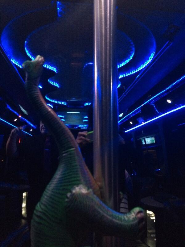 adamjustice: The @Bronto is getting cray #MagentoImagine #partybus http://t.co/ttIGalfjKR