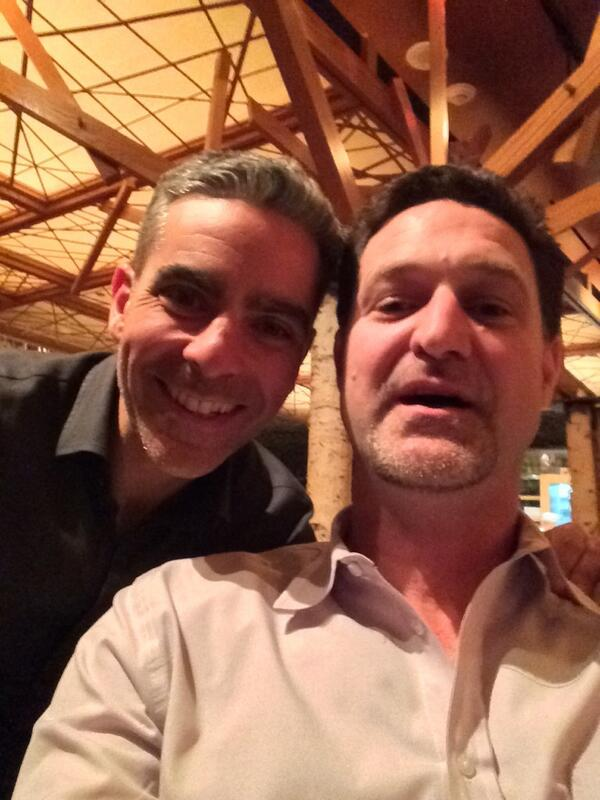 mklave1: First selfie ever. Tune in for my fireside chat with that guy tomorrow #MagentoImagine http://t.co/CL2fvScN0u