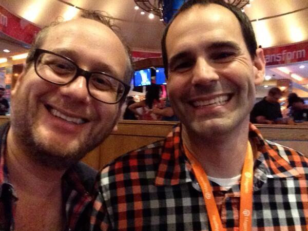 jdorf: Perez and I #MagentoImagine http://t.co/Uy8mcdkc8u
