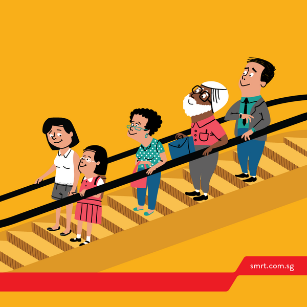 Tips Aman Naik Eskalator Bersama Anak Kecil - AnekaNews.net