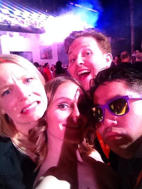 kt_hudson: Epic party selfie? Check. #MagentoImagine http://t.co/ouVYKwfUJ9