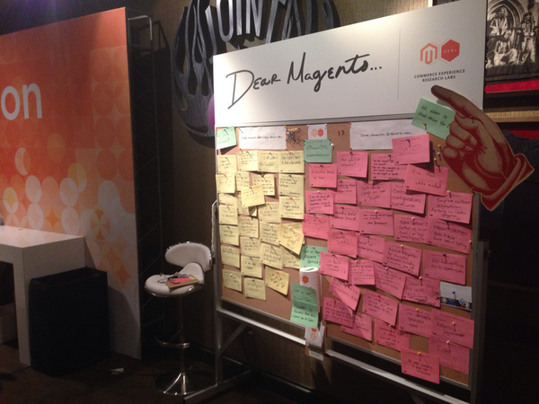 MagentoCERL: The user feedback elves were busy overnight! #MagentoImagine http://t.co/Fq3BWNdORF