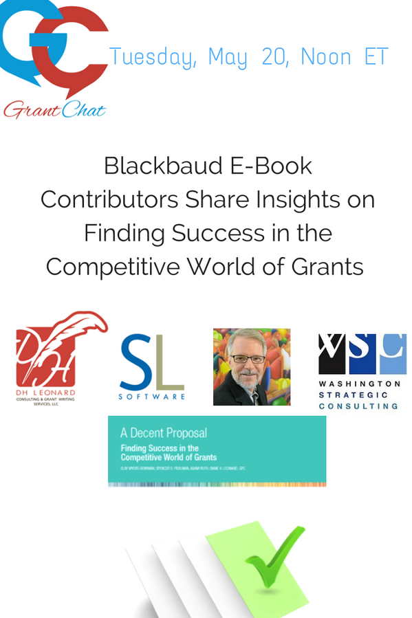 #grantchat: May 20, 2014: Blackbaud E-Book -Finding Success in the Competitive World of Grants