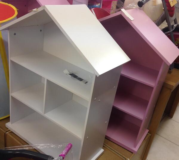 Catalogue Returns On Twitter Mia Pink White Dolls House Bookcase Only 22 49 Theoutlet2 Catalogueclearancewarehouse Furniture