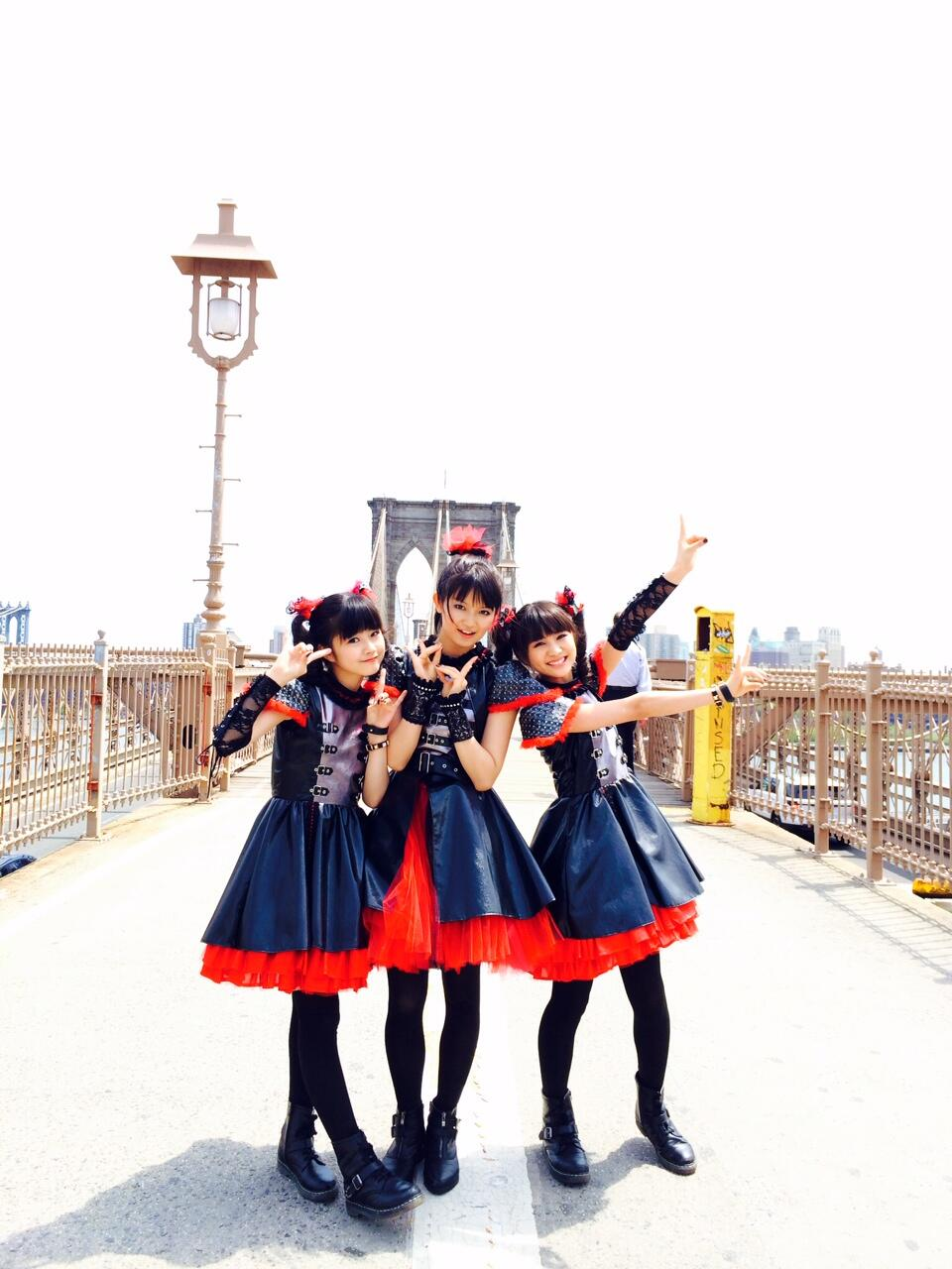 Good Morning Baby Japanese Version : Babymetal on twitter quot good morning brooklyn have a nice