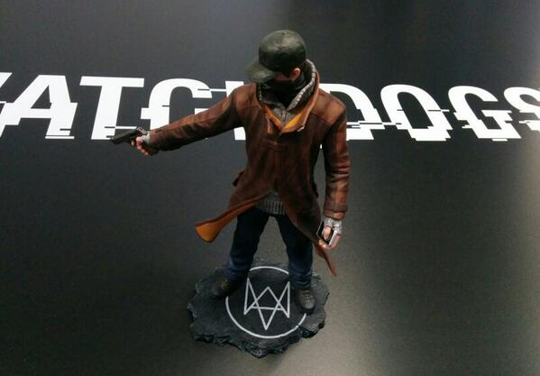 For the chance to win an Aiden Pearce #Watch_Dogs Figurine, RT this tweet! Also available for purchase at GAME. (UK) http://t.co/GAC7D6iw1i