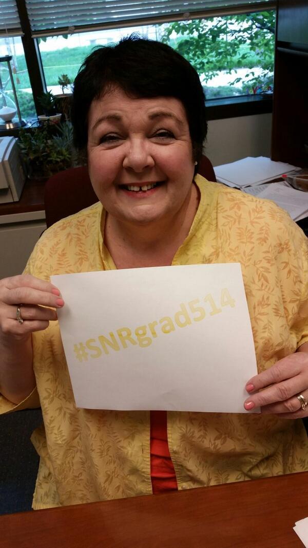 Tell us your favorite college memory! Use #SNRgrad514 http://t.co/Wbuz5xVj4s