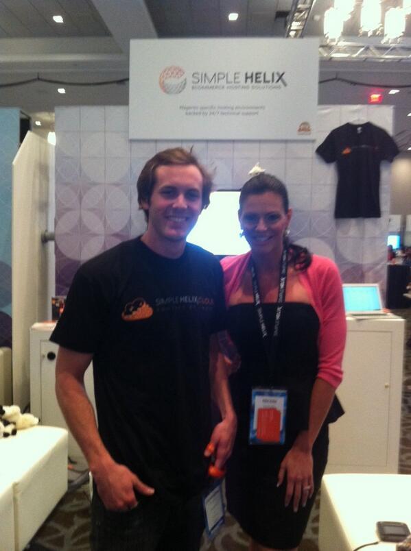 gemgento: #simplehelix & @classyllama - have a cool platform to streamline @magento - next up #rubyOnRails ! -#MagentoImagine http://t.co/vJOIqolhpc