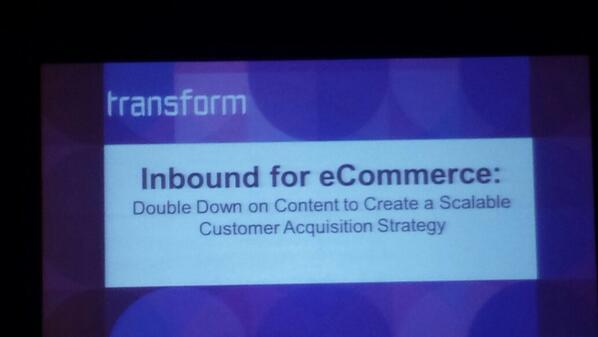 Mallikarjunan: It's a can't miss session - get in here! Inbound Marketing for eCommerce #MagentoImagine http://t.co/9BS8tvnKBf