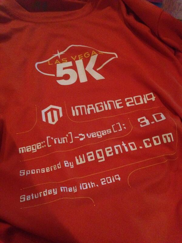monocat: I wasnt able 2 join #magerun but still got a shirt thx 2 @brentwpeterson It's good 2b connected #MagentoImagine http://t.co/LZCKuFQDzy