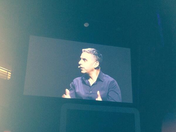 DCKAP: David Marcus ceo #paypal #MagentoImagine keynote http://t.co/PdrkzvWGbR