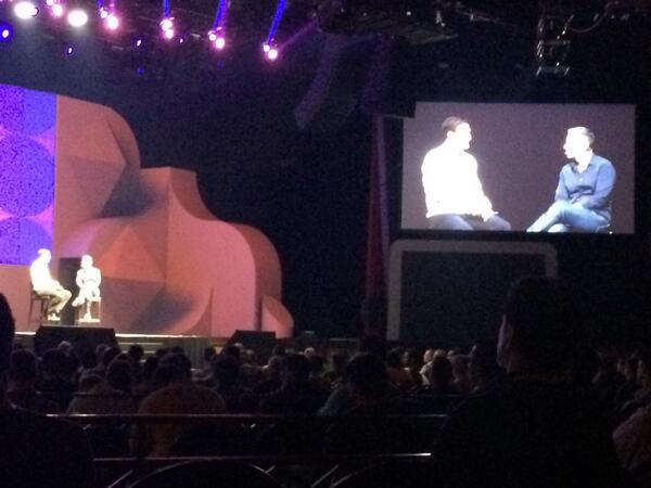 briggsbrandon: Listening to @PayPal President @davidmarcus and @mklave1 at #MagentoImagine keynote. http://t.co/l5uNKi3Bgy