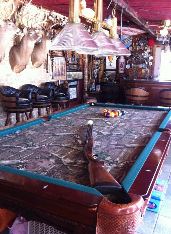 U201c@MossyOak: Break Up Infinity Pool Table Inside A Man Cave!  Pic.twitter.com/a3AHjBImfZu201d @Olivia_Gatton05 Someday.