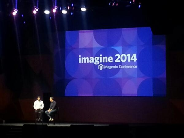 rlieser: Great #MagentoImagine keynote with @davidmarcus @netz98 http://t.co/HttihNfIsr