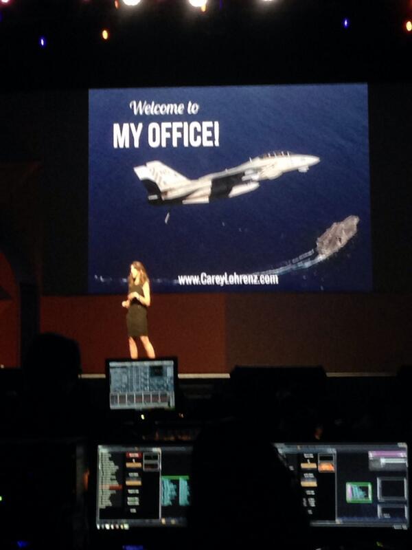 JoshuaSWarren: Awesome presentation by @CareyLohrenz at #MagentoImagine http://t.co/3ttarPfhy7