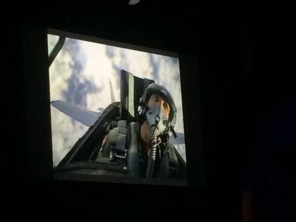 ShipperHQ: Brief taste of what it's like to fly a fighter jet. Must be engaged, focused to succeed. #MagentoImagine http://t.co/5kz67dqqD8