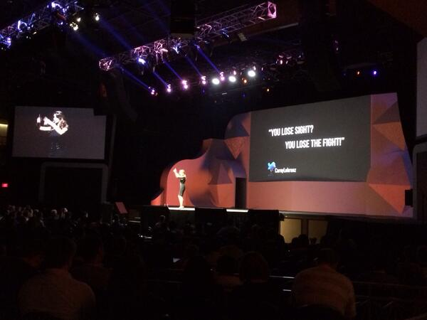 magento_rich: You lose sight, you lose the fight. #MagentoImagine http://t.co/9r3I94n72o