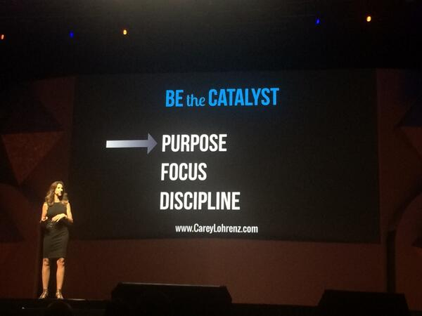 yairspitzer: Fantastic talk #magentoimagine by @careylohrenz - focus on the target and lose everything else... Love that http://t.co/QqIlV3yE7T