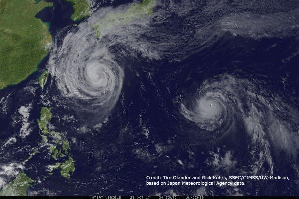 New NOAA led study finds max #tropical #cyclone intensity shifting toward poles http://t.co/VaTipCRBuf http://t.co/cbPSFs7uli